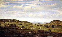 Landscape of Jura Arbois, c.1861, rousseautheodore