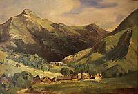 Landscape at Vigerie, valley Santoire, Auvergne, c.1830, rousseautheodore