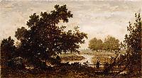 Meadowscrossedbyariver, 1851, rousseautheodore