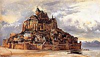 Mont Saint-Michel, 1832, rousseautheodore
