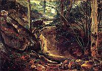 Mountain Stream in the Auvergne, 1830, rousseautheodore