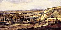Panoramic landscape, 1833, rousseautheodore