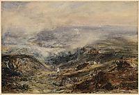 Landscape in Auvergne, c.1830, rousseautheodore