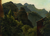 Side of the Valley of Saint-Vincent (Auvergne), c.1830, rousseautheodore