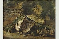 Study of rocks, 1829, rousseautheodore