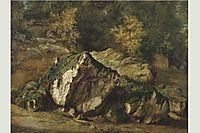 Study of rocks, 1829, rousseautheodore