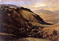 Valley in the Auvergne , 1830, rousseautheodore
