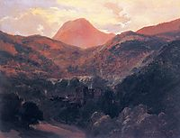 View of the Puy de Dôme and Royat, 1839, rousseautheodore