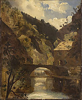 Water Mill, Thiers, c.1830, rousseautheodore