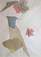 Collage, 1918, rozanova