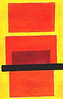 Color Painting (Non-Objective Composition), 1917, rozanova