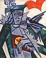 Jack of hearts, c.1915, rozanova
