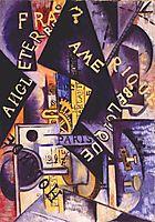 Metronome, 1915, rozanova