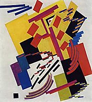 Non-objective Composition , 1916, rozanova