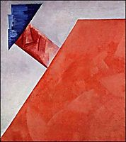 Non-objective Composition , 1917, rozanova