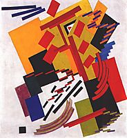 Non-Objective Composition (Suprematism), 1916, rozanova