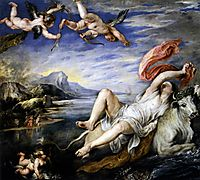 The abduction of Europe, rubens