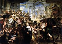The Abduction of the Sabine Women, 1635-37, rubens