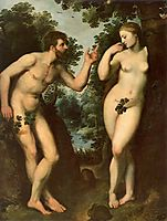 Adam and Eve, c.1597, rubens