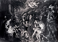 The Adoration of the Magi, 1609, rubens