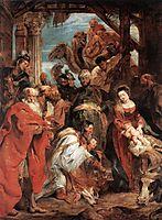 The Adoration of the Magi, 1624, rubens