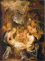 Adoration of the Shepherds, 1616, rubens