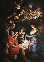 Adoration of the Shepherds, c.1608, rubens