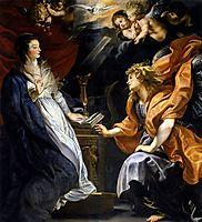 Annunciation, 1609-10, rubens