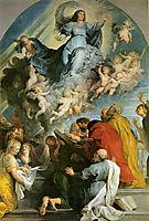Assumption of Virgin, rubens