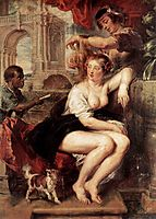 Bathsheba at the Fountain, 1635, rubens