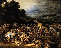 The Battle of the Amazons, 1600, rubens