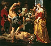 Beheading of St. John the Baptist, 1610, rubens