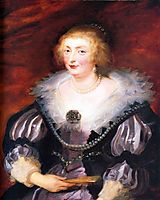 Catherine Manners, Duchess of Buckingham, c.1629, rubens