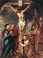 Christ on the Cross, 1627, rubens
