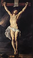 Christ crucified, 1610-11, rubens