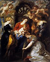 The Crowning of Saint Catherine, 1631, rubens