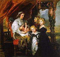 Deborah Kip and her Children, 1629-30, rubens