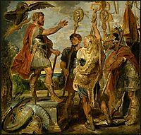 Decius Mus Addressing the Legions, c.1616, rubens