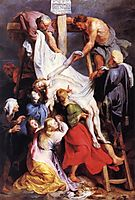 Descent from the Cross, 1616-17, rubens