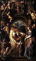 The Ecstasy of Saint Gregory the Great, 1608, rubens