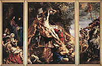 The Elevation of the Cross, 1610, rubens