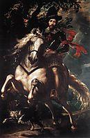 Equestrian portrait of Giancarlo Doria, 1606, rubens