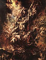 The fall of the damned, 1620, rubens