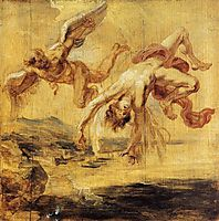 The Fall of Icarus, 1636, rubens