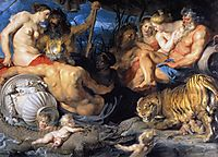 The Four Continents, 1615, rubens
