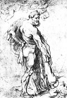 Hercules Crowned by geniuses, 1621, rubens