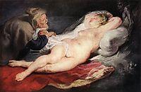The Hermit and Sleeping Angelica, 1626-28, rubens