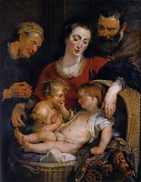 The Holy Family with St. Elizabeth, 1615, rubens