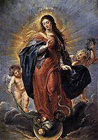 Immaculate Conception, 1628, rubens