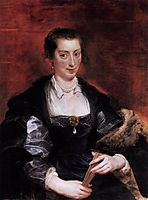 Isabella Brandt, First Wife, 1610, rubens